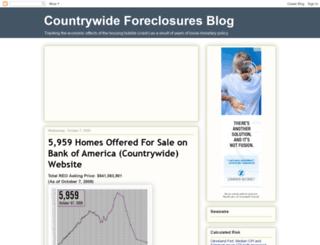 countrywide-foreclosures.blogspot.com screenshot