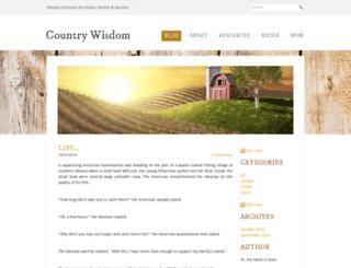 countrywisdom.com screenshot