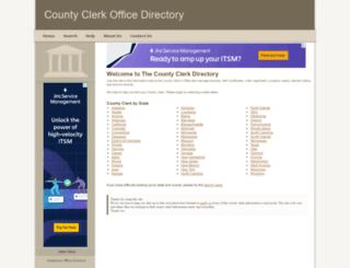 county-clerk.net screenshot