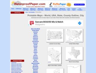county-map.digital-topo-maps.com screenshot