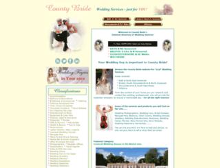 countybride.co.uk screenshot
