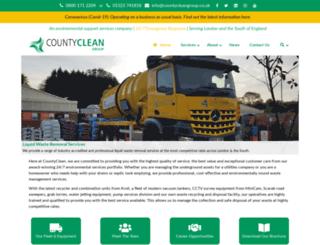 countycleanenvironmental.co.uk screenshot