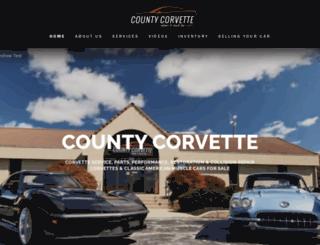 countycorvette.com screenshot