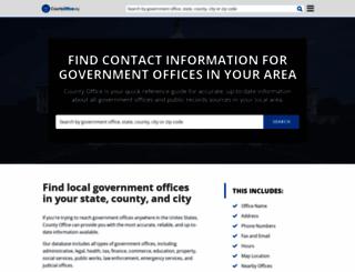 countyoffice.org screenshot
