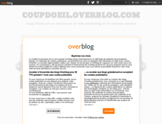 coupdoeil.overblog.com screenshot