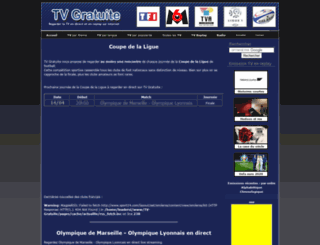 coupedelaligue.tv-gratuite.com screenshot