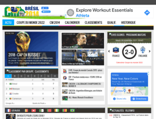 coupedumonde2014.net screenshot