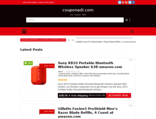 couponadi.com screenshot