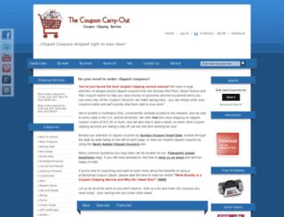 couponcarryout.com screenshot