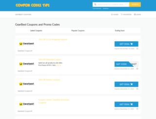 couponcodes.tips screenshot