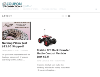 couponconnections.com screenshot