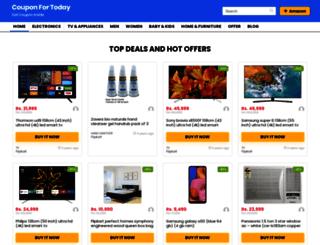 couponfortoday.com screenshot