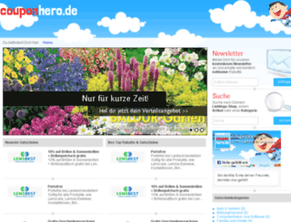 couponhero.de screenshot