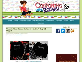 couponingwithrachel.com screenshot