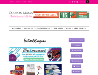 couponmamauk.co.uk screenshot
