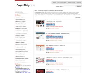 couponmeup.co.nz screenshot
