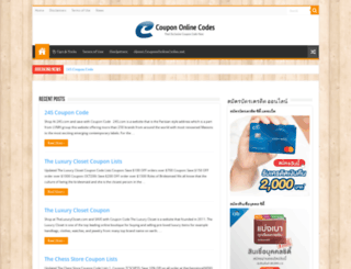 coupononlinecodes.net screenshot