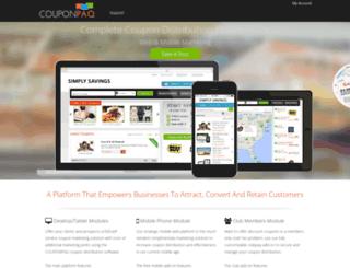 couponpaq.com screenshot