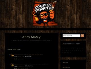 couponpirate.com screenshot
