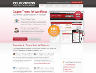 couponpress.com screenshot
