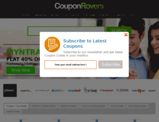 couponrovers.in screenshot