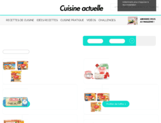 coupons.cuisineactuelle.fr screenshot