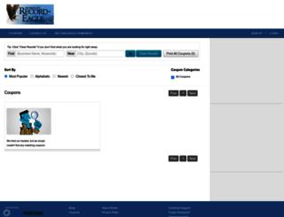 coupons.record-eagle.com screenshot
