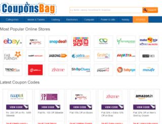 couponsbag.in screenshot