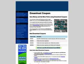 couponscode.dreamhosters.com screenshot