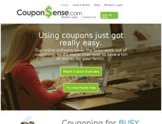 couponsense.com screenshot