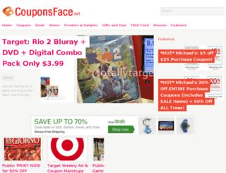 couponsface.net screenshot
