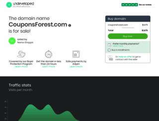 couponsforest.com screenshot