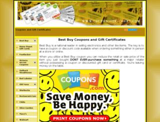 couponsite-codes.com screenshot