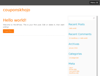 couponskhojo.com screenshot