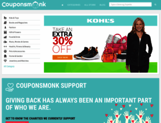 couponsmonk.com screenshot