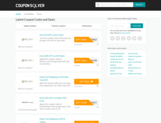 couponsolver.com screenshot
