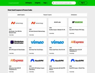 couponsort.com screenshot