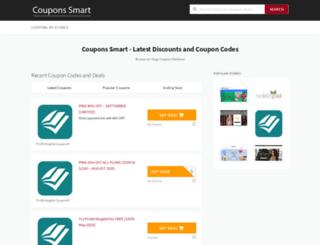 couponssmart.com screenshot