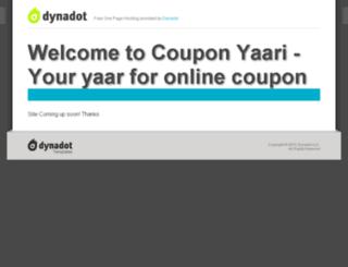 couponyaari.in screenshot
