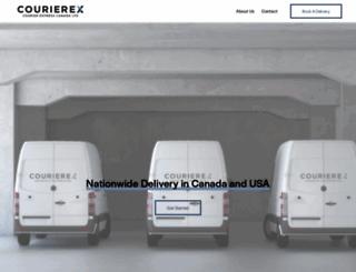 courierexpress.ca screenshot