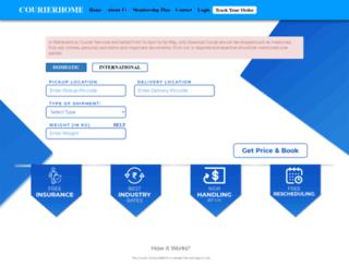 courierhome.com screenshot