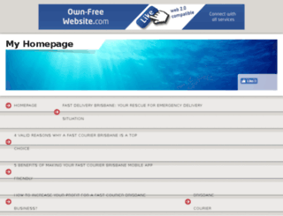 courierinbrisbane.page.tl screenshot