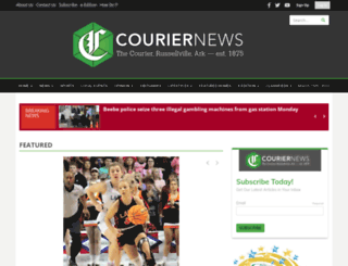 couriernews.com screenshot
