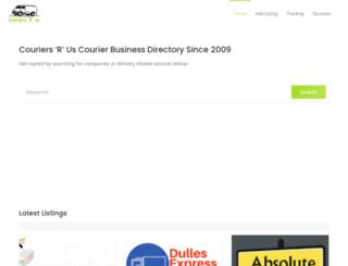 couriersrus.com screenshot