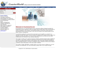 courierworld.net screenshot