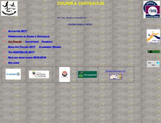 courirachateaulin.pagesperso-orange.fr screenshot