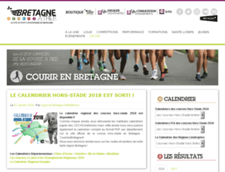 courirenbretagne.org screenshot