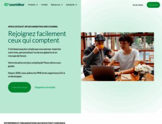 courrielleur.com screenshot