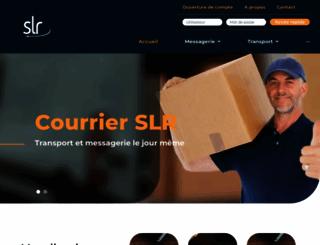 courrierslr.ca screenshot