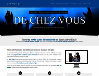 cours-de-musique-en-ligne.com screenshot